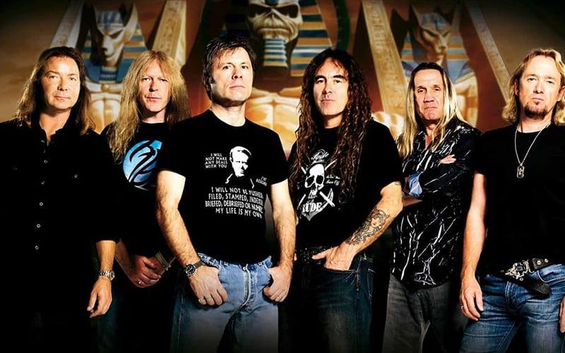 Iron maiden best metal bands