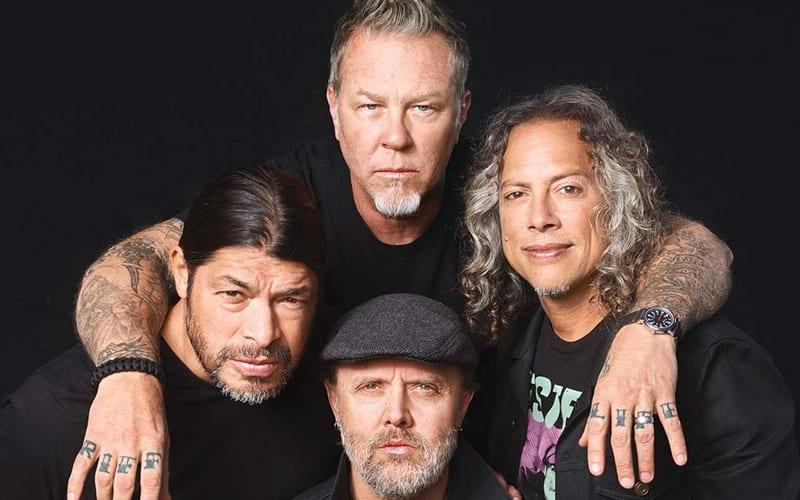 metallica best metal bands