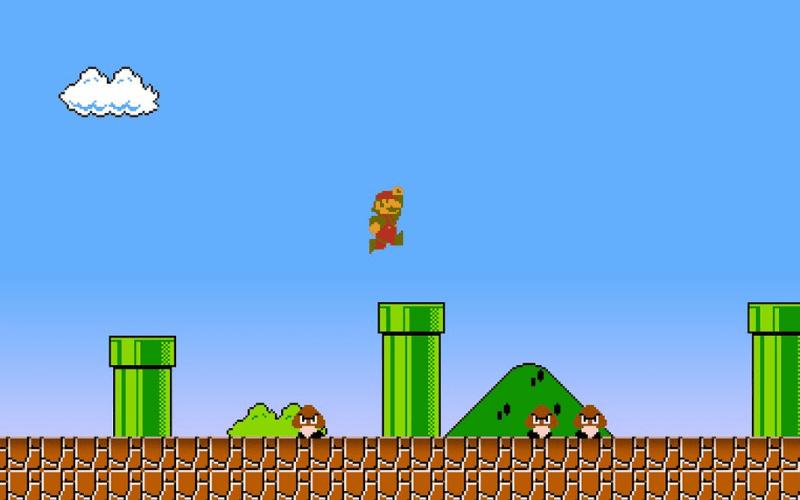 Mario 8 bit