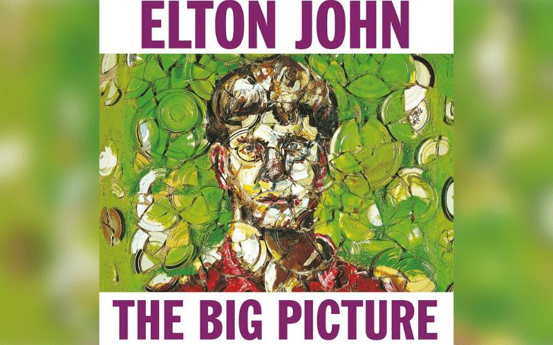 The Big Picture Elton John album cover
