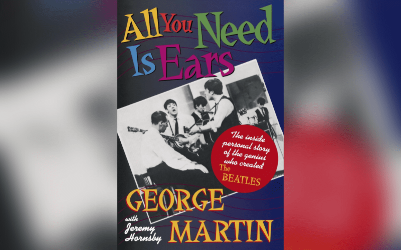 all you need is ears cover art george martin
