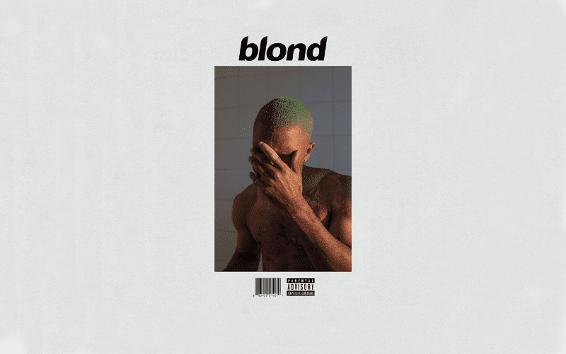 Blond Frank Ocean album cover