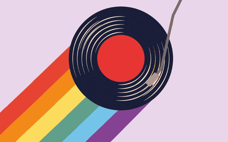 Pride best gay albums vinyl with rainbow