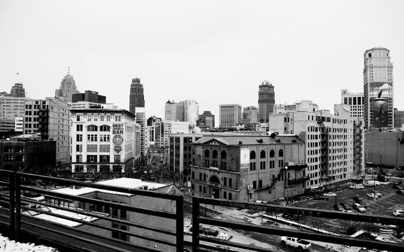 detroit landscape