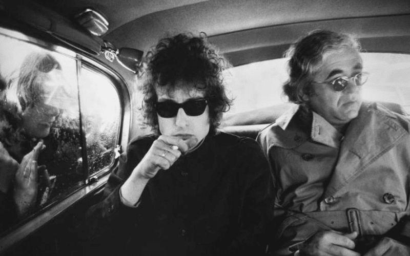 bob dylan and his manager
