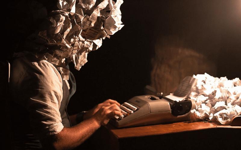 writers block concept image