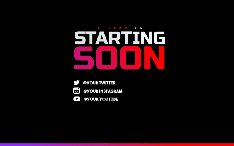 twitch scenes template