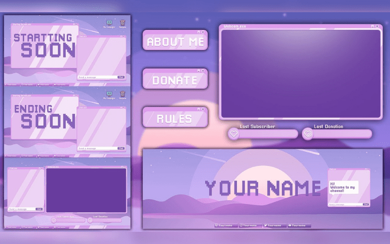 overlays for twitch