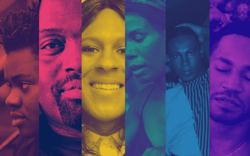 lgbtq people of color collage