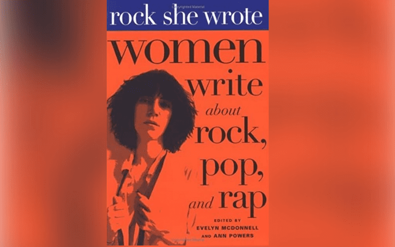 rock she wrote music book cover