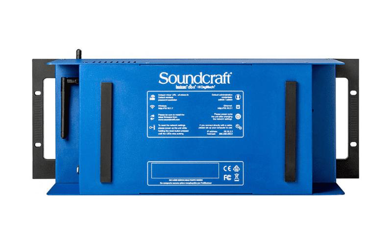 soundcraft ui24r back