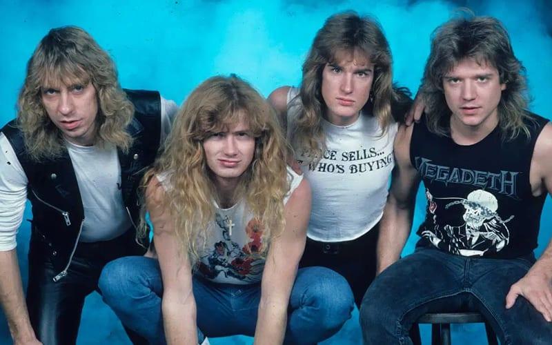megadeth best metal bands