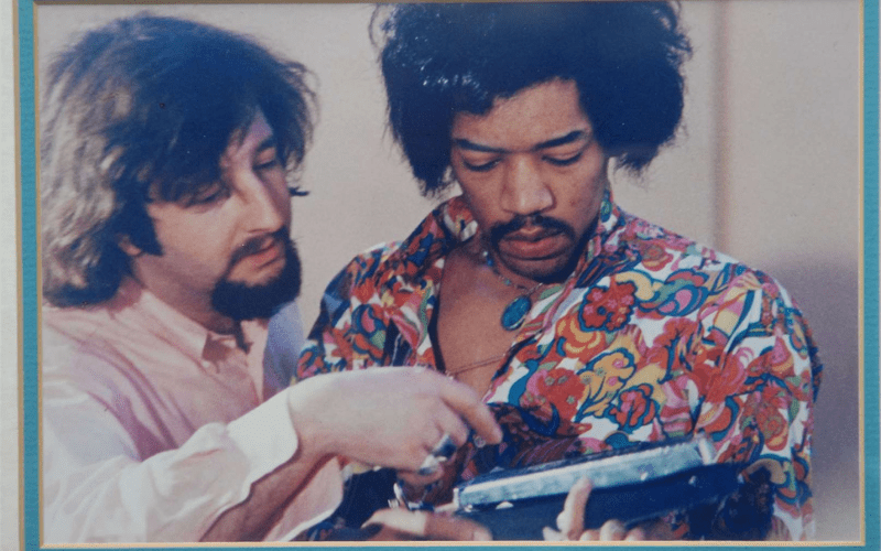 jimi hendrix and tour manager