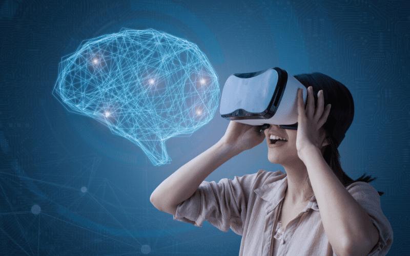 AI in gaming, via VR