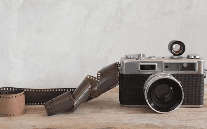 A film photography camera