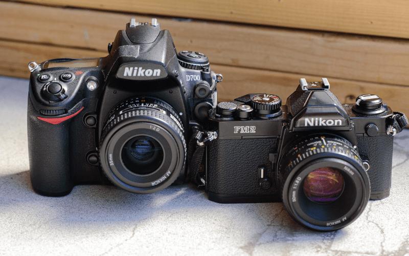 Film photography vs digital photography
