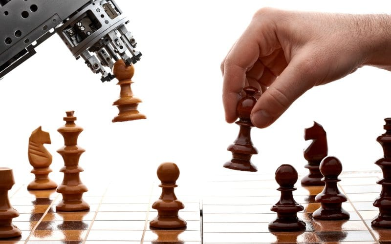 AI in gaming: chess.
