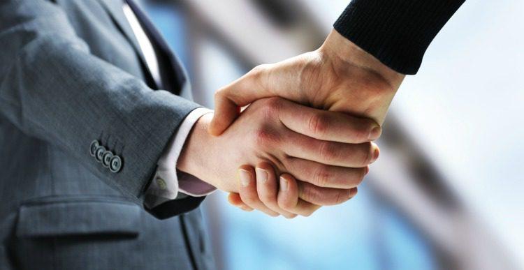 hand shake negotiation