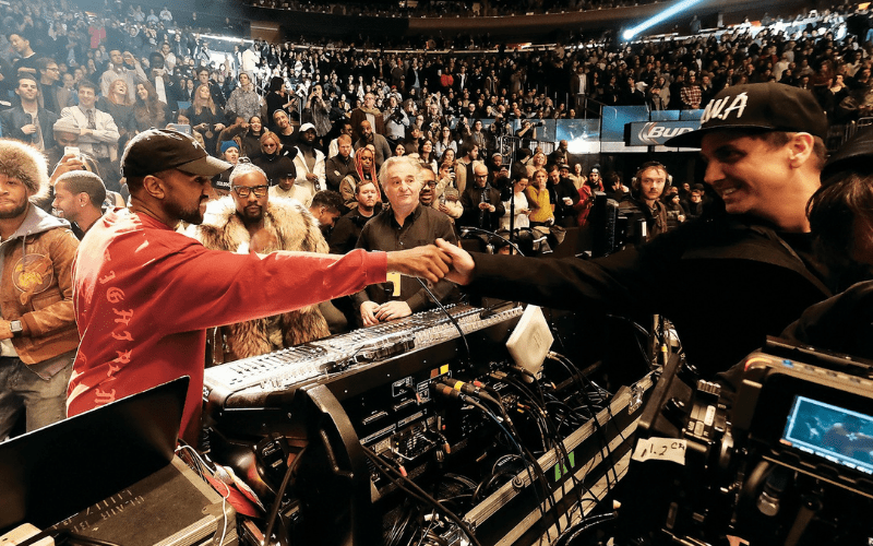 mike dean and kanye west