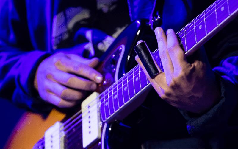 guitar slide player