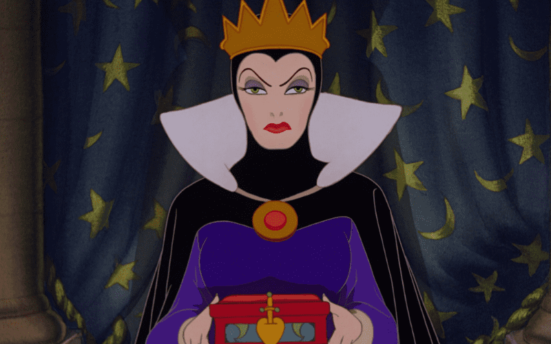 the Evil Queen rom Snow White and the Seven Dwarfs