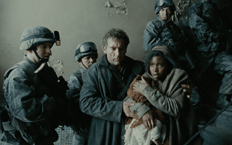 Children of Men is one of the best sci-fi movies.