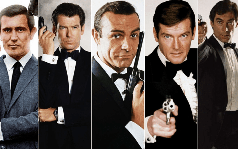 The James Bond films are one of the best spy movie franchises.
