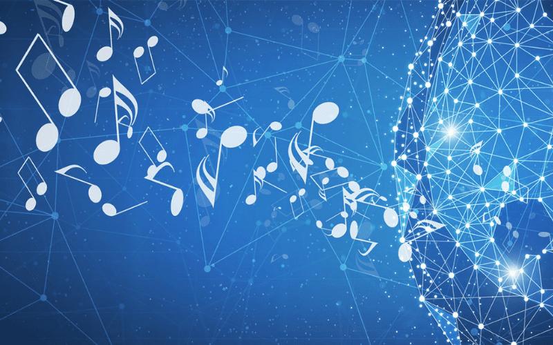 music blockchain