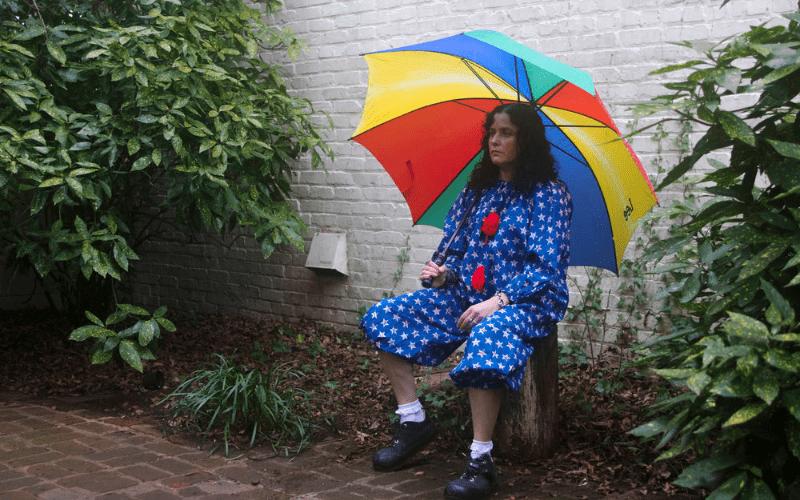 artist with an umbrella weird music genres