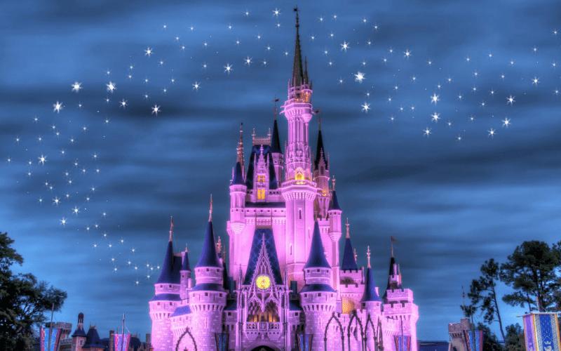 Disneyland castle famous disney movie quotes