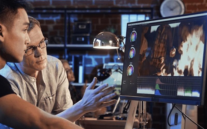 film editor intern in studio
