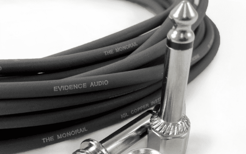 evidence audio solderless patch cable