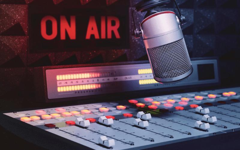 radio station on air