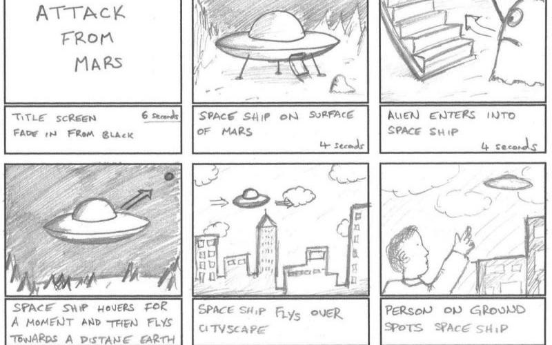 storyboarding animation