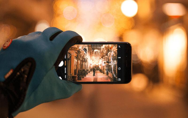 iphone camera shot