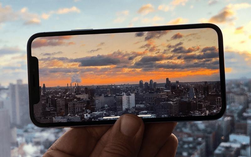 iphone video skyline