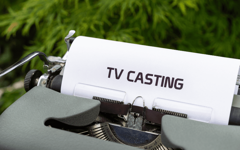 typewriter TV casting