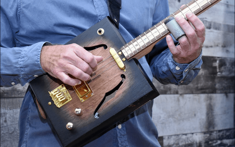 cigar box guitar slide