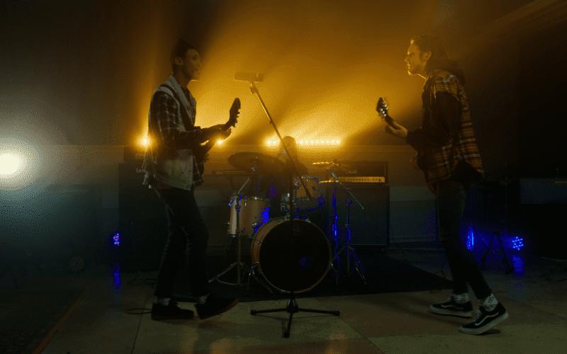 band music video