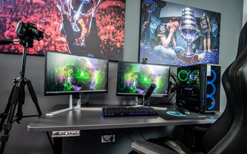 gaming computer setup pc gaming vs console
