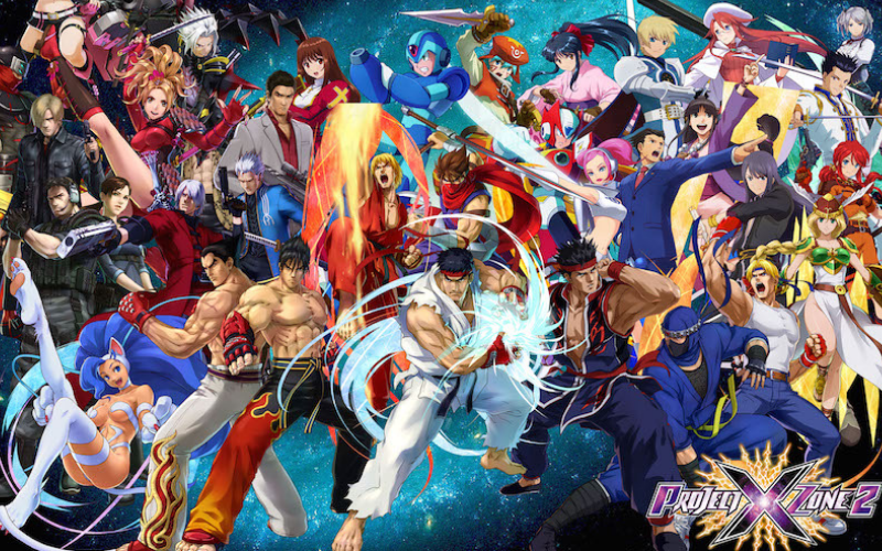 Project X Zone, one of Monolith Soft's flagship titles.