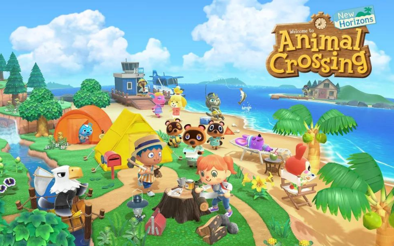 Animal Crossing, one of Monolith Soft's flagship titles.