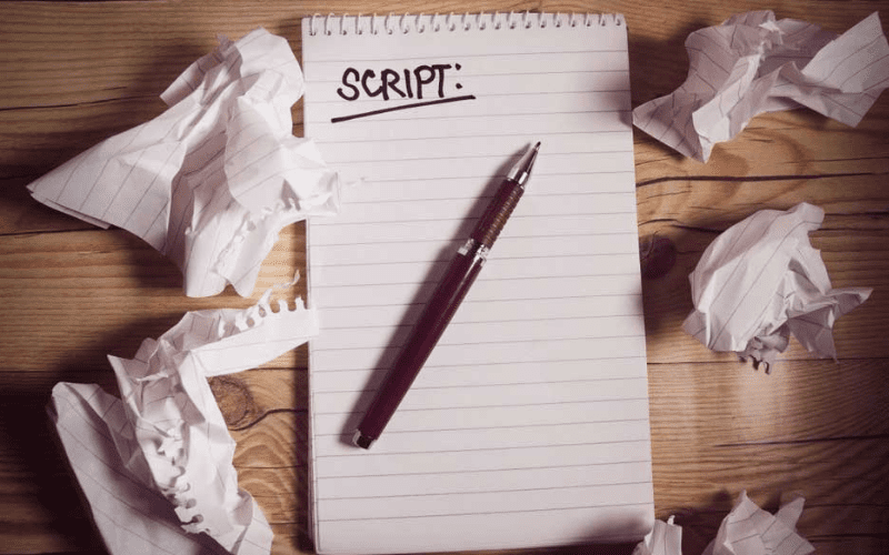 Writing a script is a part of your pre-production checklist