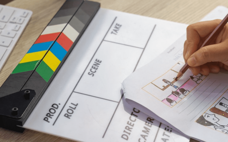Storyboarding is a key part of your pre-production checklist