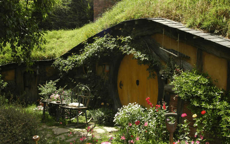 Set design from Lord of the Rings