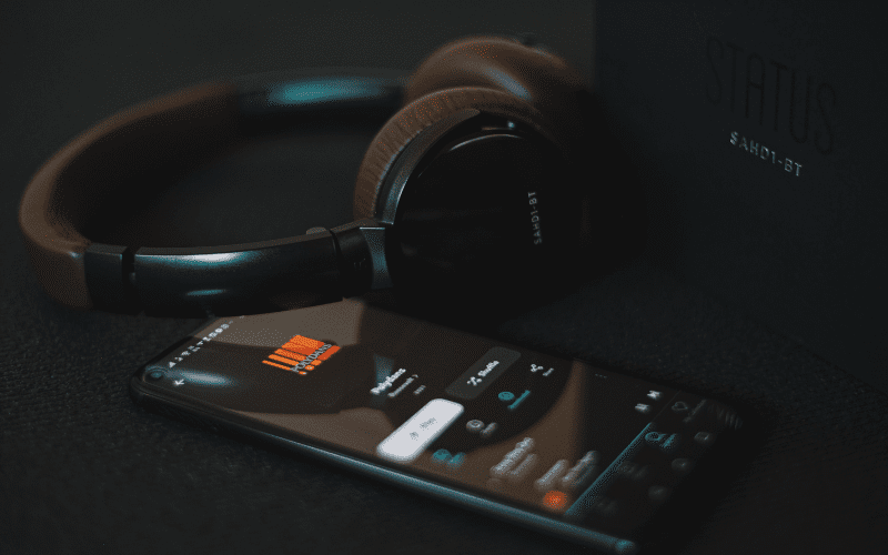 music streaming and headphones sell your music