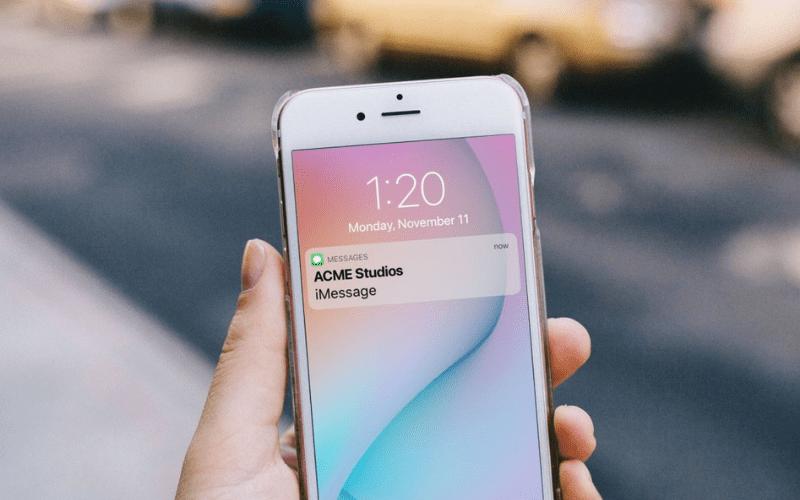 marketing text message