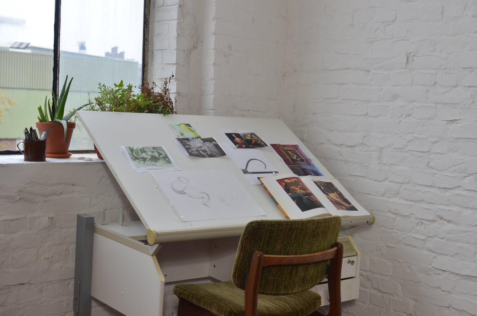 Concept artists have portfolios