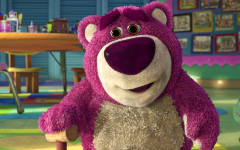 Lotso from Toy Story