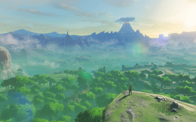 The Legend Of Zelda: Breath of the Wild, one of Monolith Soft's flagship titles.